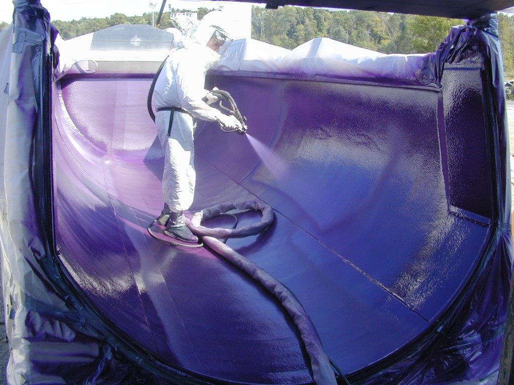 Polyurea Coatings Oak Ridge Foam Amp Coating Systems Inc